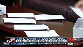 New sexual assault grant program