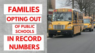Families Opting out of Public Schools in record numbers