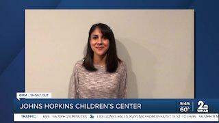 Good morning from the Johns Hopkins Children's Center