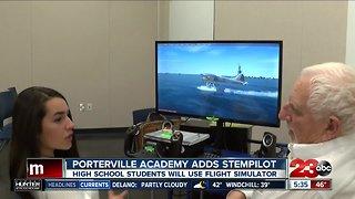 Porterville Military Academy Adds Flight Simulator