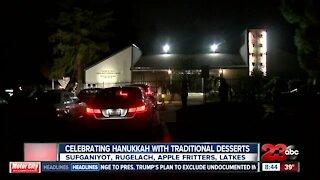 Celebrating Hanukkah with traditional desserts