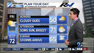 Late Day Storms By Friday