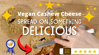 How to make vegan cashew cheese spread