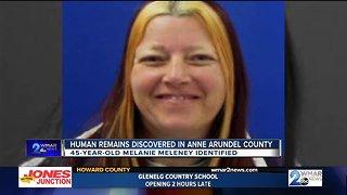 Human remains identified as missing Glen Burnie woman