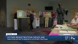 Friday is deadline to register to vote