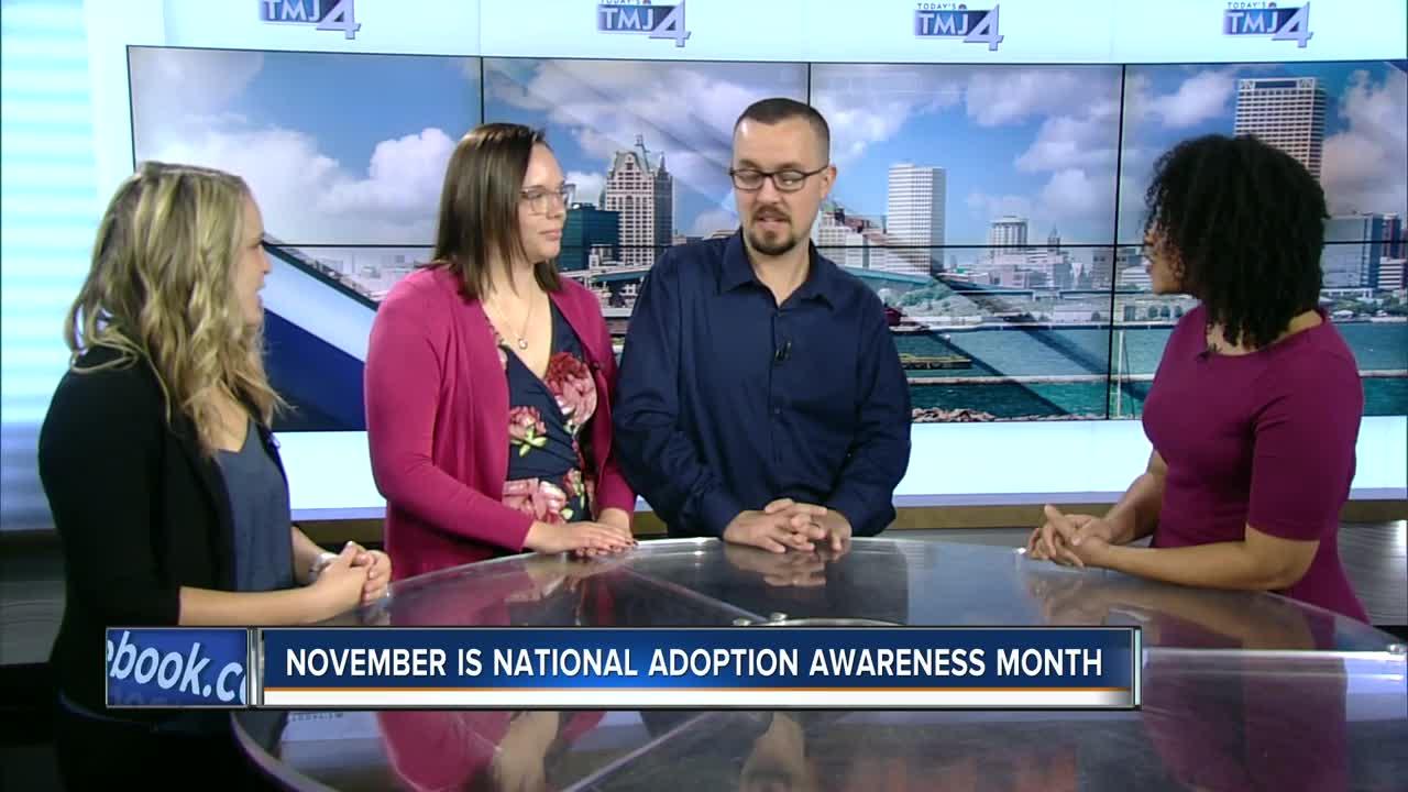 November is National Adoption Awareness Month