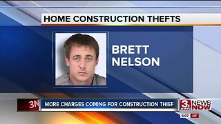 More charges coming for construction thief