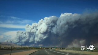 Evacuations, road closures as wildfires rage across the Front Range
