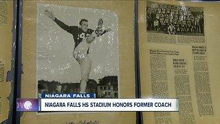 Niagara Falls High School stadium honors former coach