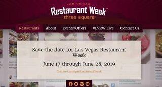 Las Vegas Restaurant Week begins