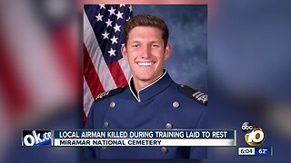 Local Airman killed during training laid to rest