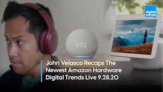 Recapping Amazon's New Hardware | Digital Trends Live 9.28.20