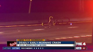 Bicyclist killed in North Fort Myers crash overnight
