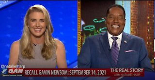The Real Story - OAN Recall Newsom with Larry Elder