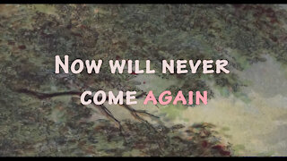 Bertrands Wish - Now Will Never Come Again (Lyric Video)