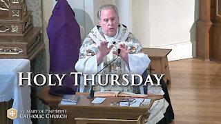 Fr. Richard Heilman's Sermon for Holy Thursday, April 1, 2021 (NO)
