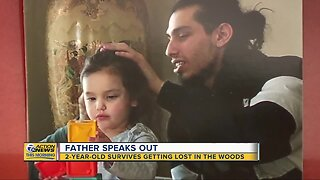 Father of missing 2-year-old speaks after after she was found