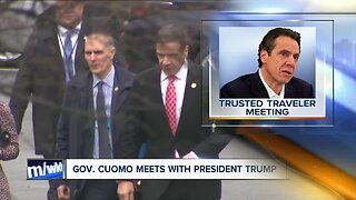 Cuomo meets with Trump to offer deal on travelers program