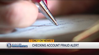 Northeast Ohio checking account fraud ramped-up due to phishing scams