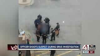 KCPD: Officer shoots armed suspect during drug investigation in downtown KC