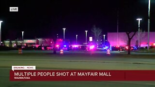 Suspect still at large after shooting 8 people at Mayfair Mall; no deaths reported