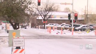 Flagstaff gets several inches of snow