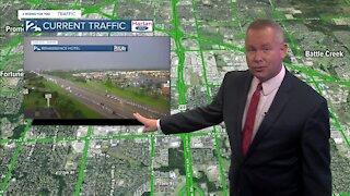 Traffic updates with Flash Flood Warnings
