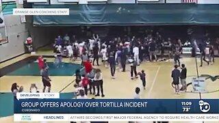 Coronado group offers apology over tortilla throwing incident