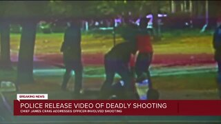 Detroit police release video showing suspect firing at police before deadly shooting