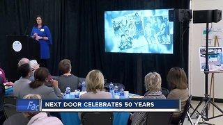 Next Door Celebrates 50 years