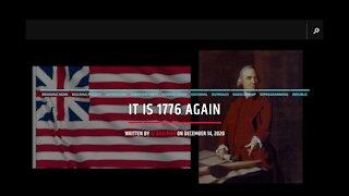 It Is 1776 Again
