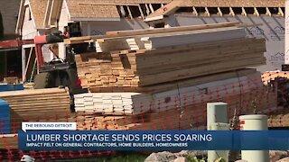 Lumber shortage sends prices soaring