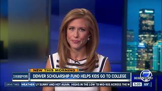 Denver Scholarship Foundation helping Denver students