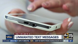 How to stop unwanted text messages