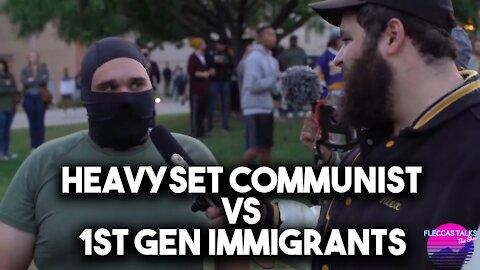 WHAT AMERICA NEEDS: HEAVYSET COMMUNIST VS FIRST GEN IMMIGRANTS