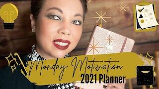 Monday Motivation | 2021 planner