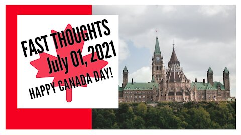 FAST THOUGHTS: So much to celebrate after 154 years of nationhood!