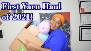 Channel Chat 79: 1st Yarn Haul of 2021