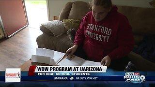 WOW program at UArizona helping high school students