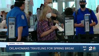 Oklahomans traveling for spring break despite pandemic