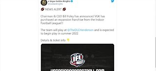 Las Vegas valley gaining another sports franchise: Indoor Football League