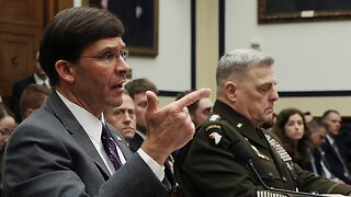 Defense Sec. Receives Backlash From Lawmakers On Diverted Funds