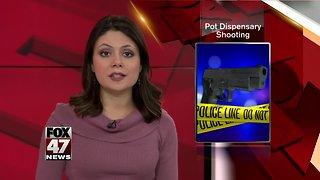 Security shot outside medical marijuana shop