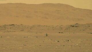 NASA's Ingenuity Helicopter Takes First Flight On Mars