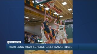 WXYZ Senior Salutes: Hartland High School girls basketball