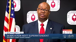 Palm Beach County School Board discusses superintendent search