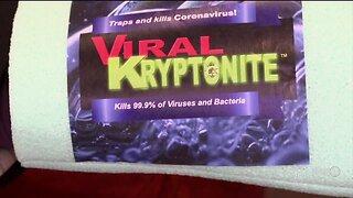 Viral Kryptonite says sponge technology can help fight Coronavirus