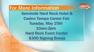 Seminole Hard Rock Hotel & Casino Career Fair   Morning Blend