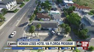 Woman loses hotel via Florida program