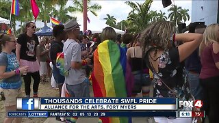 Thousands celebrate SWFL Pride in Fort Myers